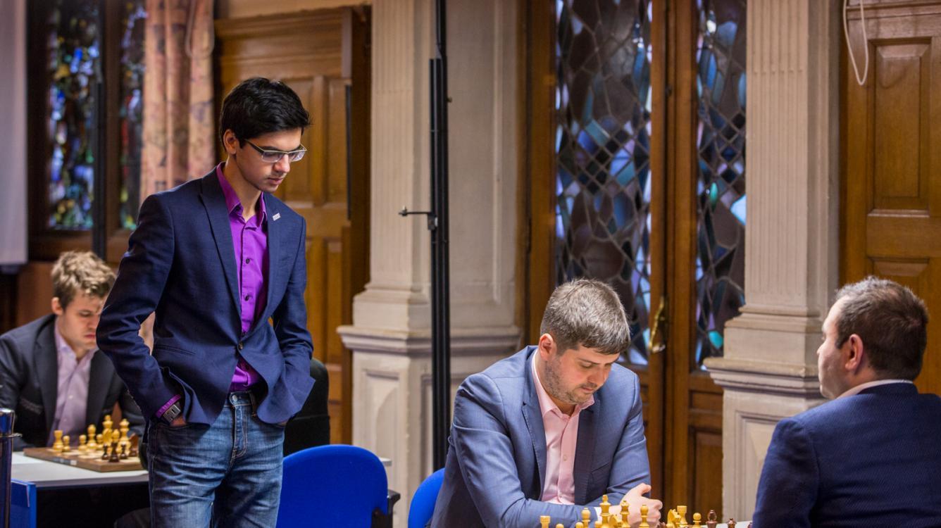 Carlsen, Giri, Mamedyarov Lead Tata Steel Chess