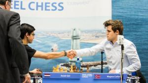 Miniatura de Carlsen Bate Giri Em Playoff, Vence o Tata Steel Chess