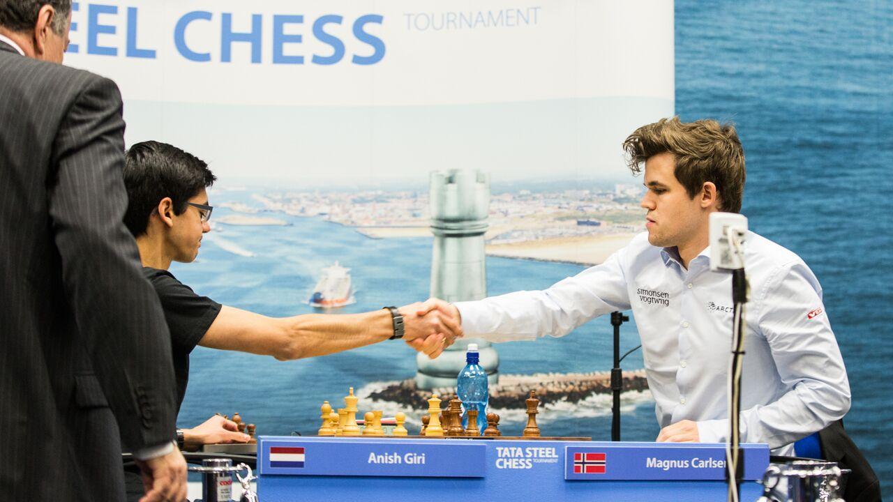 Carlsen bat Giri au départage et remporte un nouveau Tata Steel