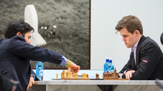 Nakamura-Carlsen Fischer Random Chess Tied After Day 1