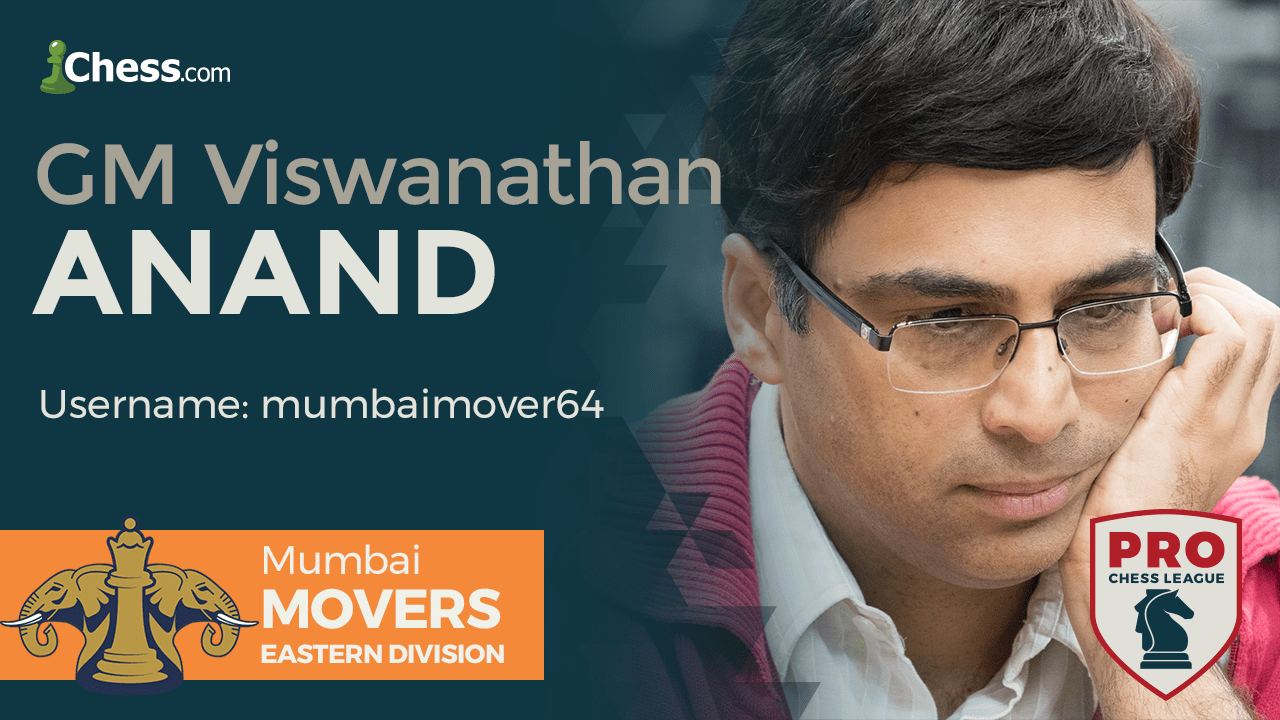 Anand Leads High-Scoring Indian Contingent In PRO Chess Round 6