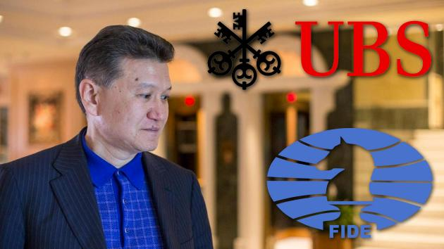 Swiss Bank To Close FIDE Account Over Ilyumzhinov