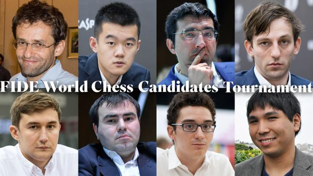 FIDE Publishes Candidates' Tournament Pairings