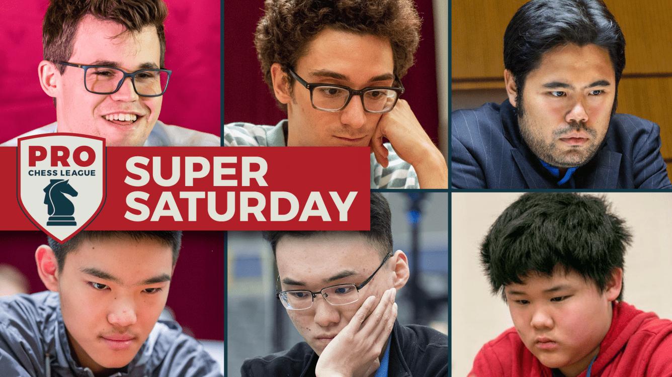 Caruana Perfect, Carlsen Nearly So In Record-Smashing PRO Super Saturday