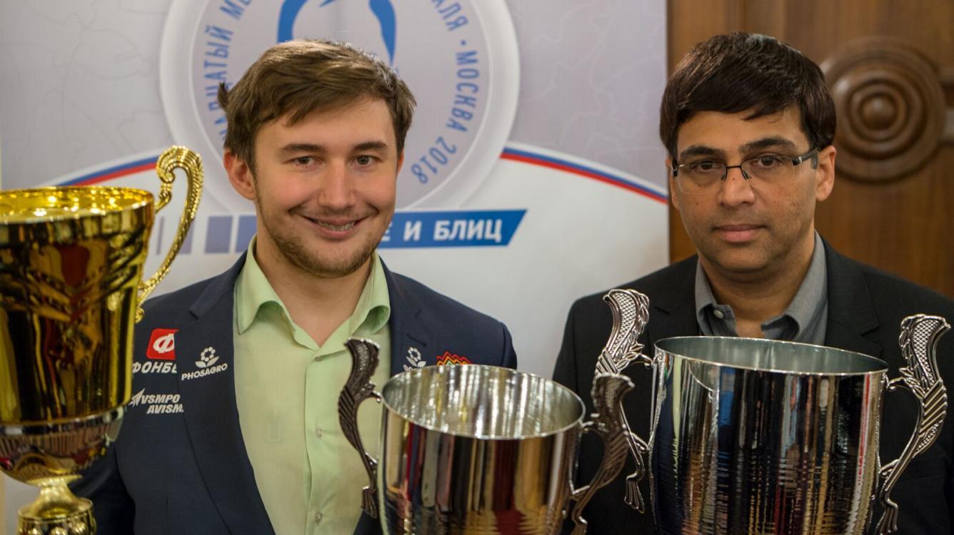 Сергей Карякин - победитель блиц-турнира на Мемориале Таля