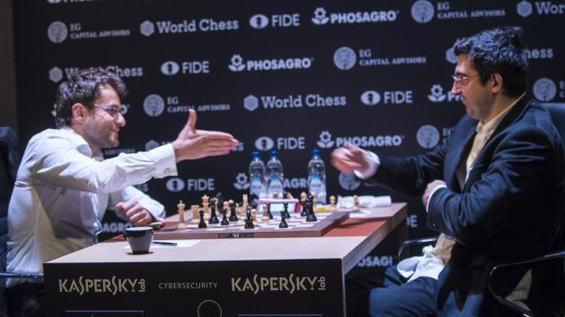Турнир претендентов: Крамник блестяще побеждает Ароняна
