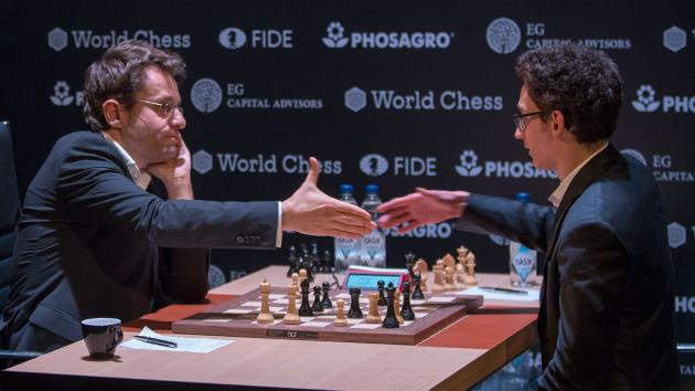 Caruana Sole Leader Halfway Through FIDE Candidates' Tournament