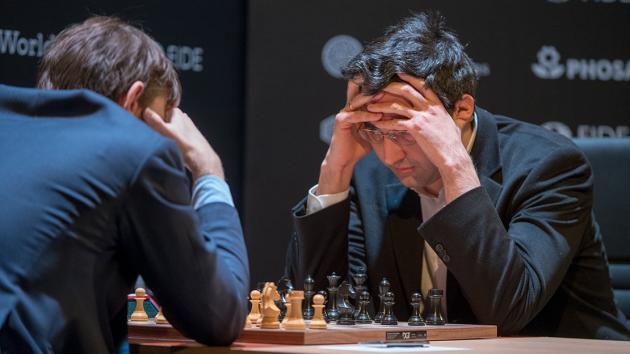 Candidatos de ajedrez (8): Kramnik cae ante Grischuk