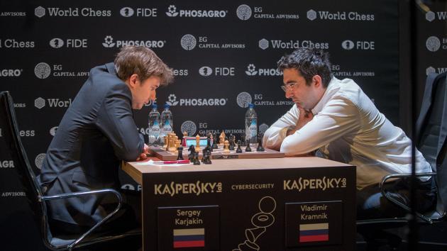 Злоключения Крамника на Турнире претендентов продолжаются проигрышем Карякину