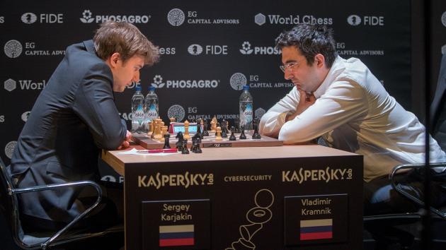 Candidatos de ajedrez (9): Karjakin hunde a Kramnik