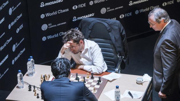 Крамник поставил мат Ароняну на Турнире претендентов