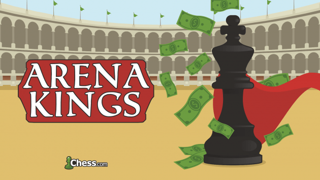 Arena Kings | Torneo de ajedrez con premios para Streamers