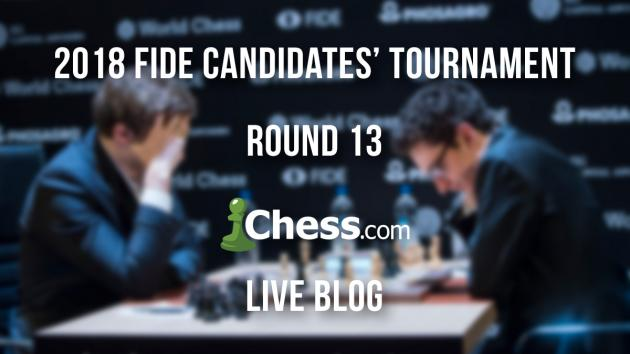 FIDE Candidates' Tournament R13 Live Blog