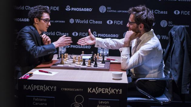 Caruana Beats Aronian, Leads Before Candidates' Tournament Final Round
