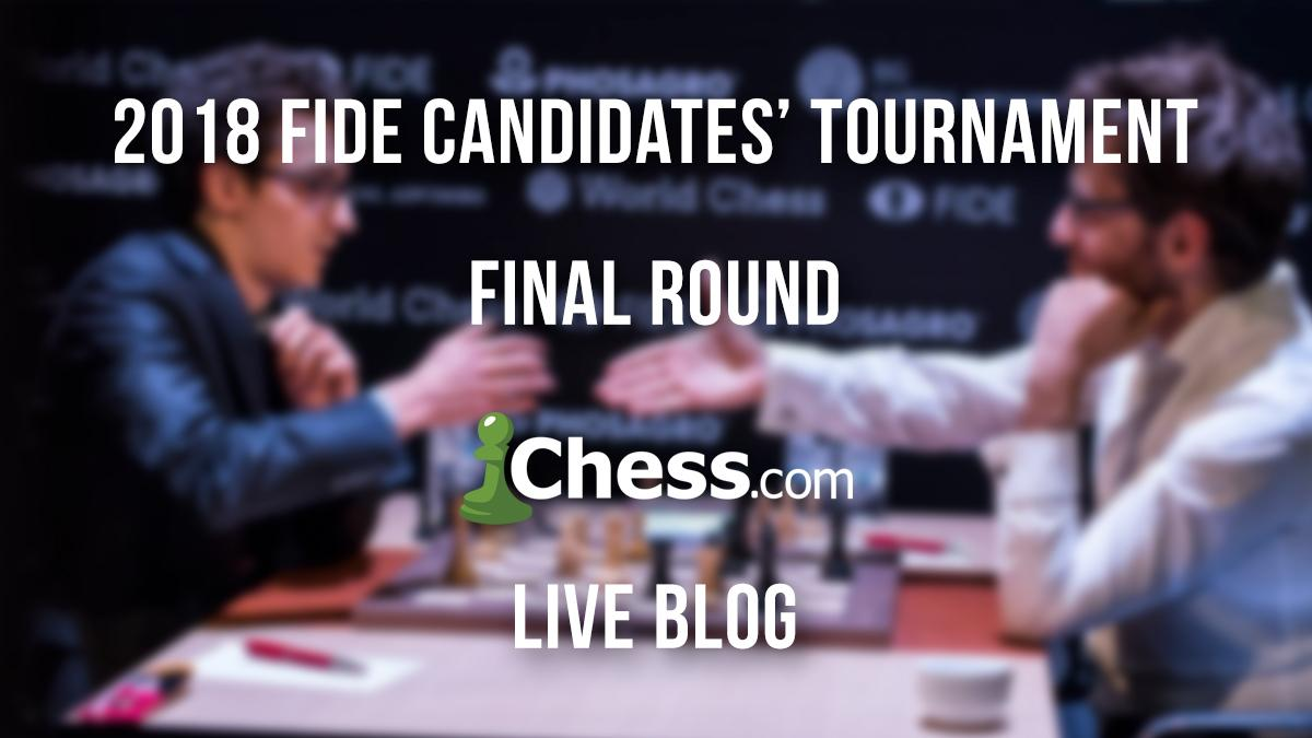 FIDE Candidates' Tournament Final Round Live Blog