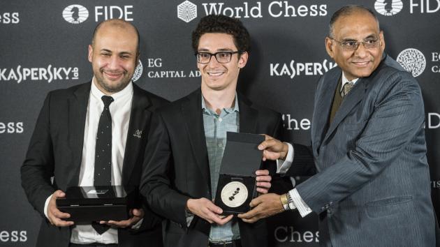 Caruana Vence o Torneio dos Candidatos da FIDE