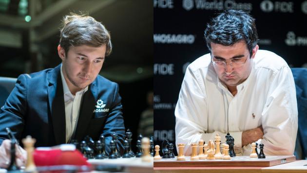Karjakin, Kramnik To Participate In Charity Blitz