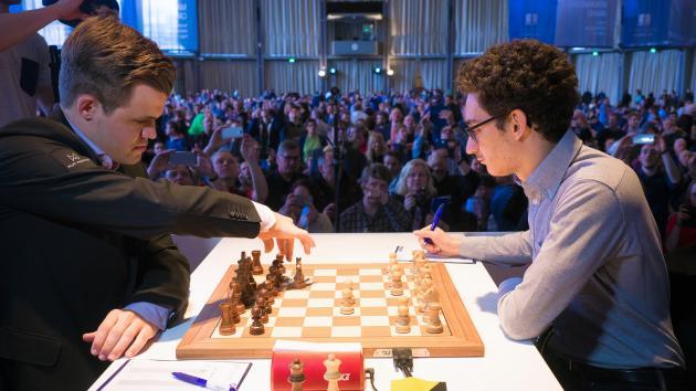 Caruana Holds Vs Carlsen As Grenke Chess Classic Takes Off