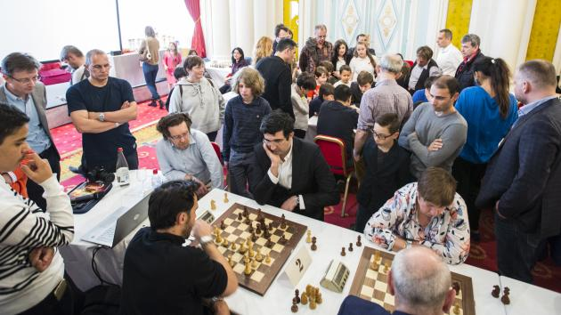 Карякин и Крамник на благотворительном мероприятии: размышления о турнире претендентов