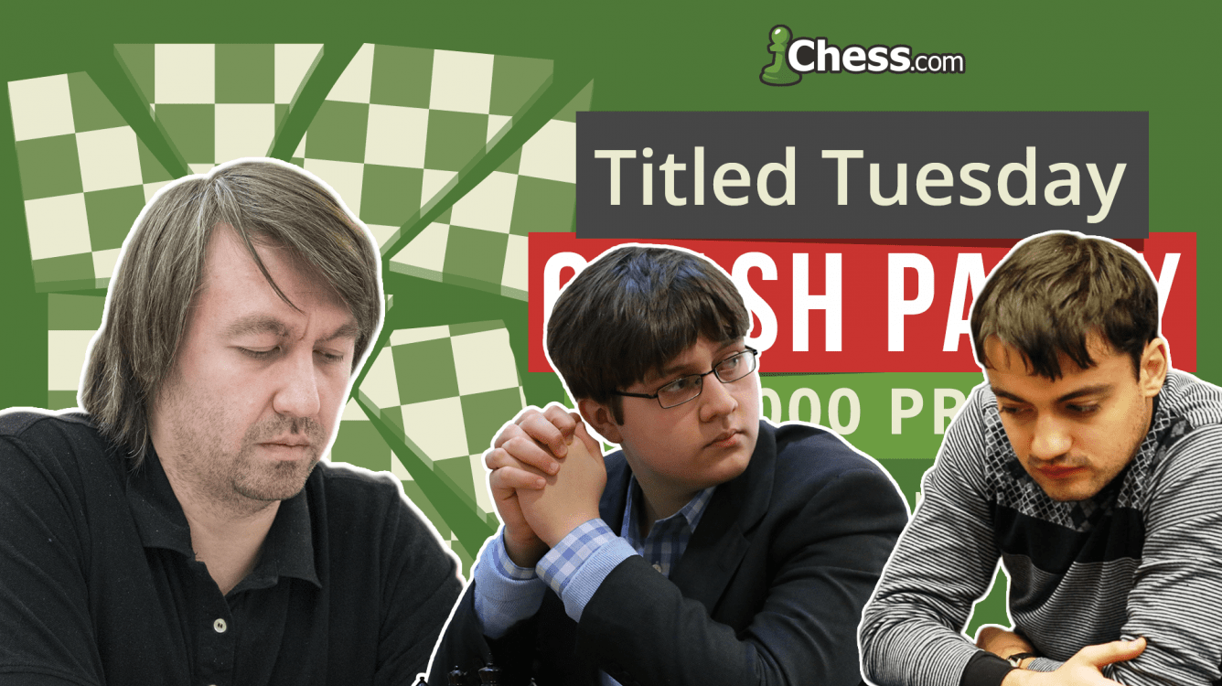 Kamsky, Sevian, Andriasyan Win Giant Titled Tuesday Crash Tournament