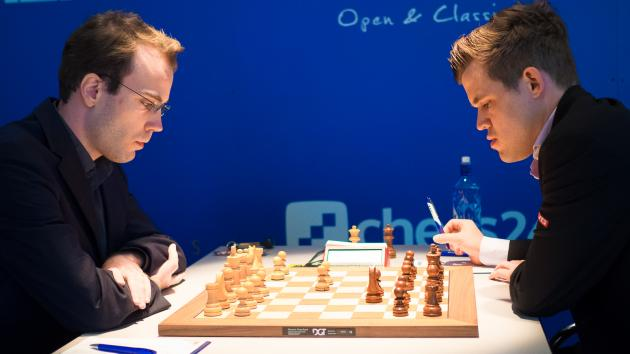 Meier Misses Opportunity vs Carlsen In Grenke