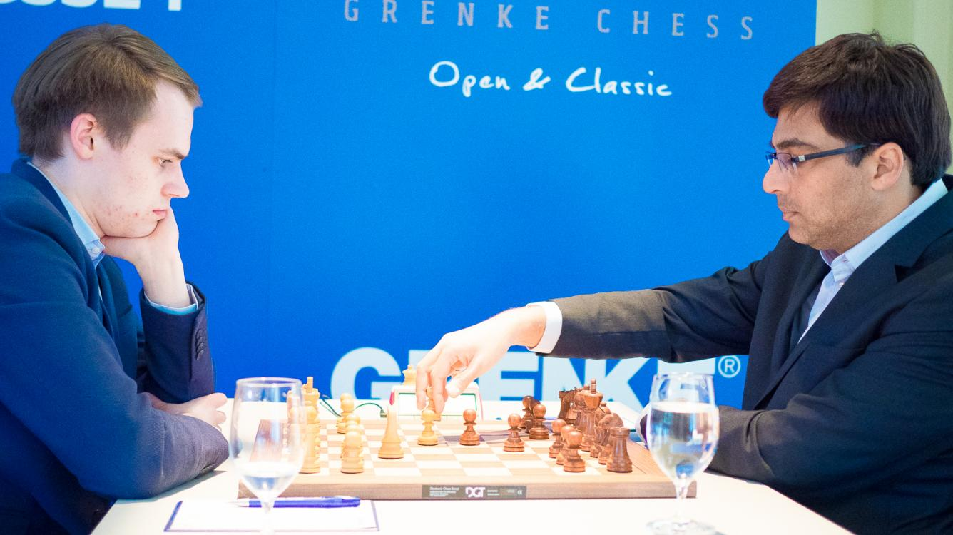 Anand Goes Down In Grenke Chess Round 6