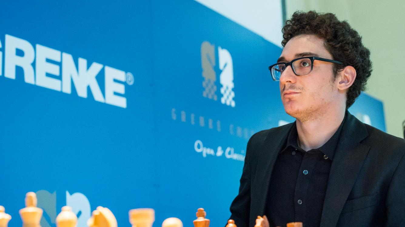 Caruana Takes Sole Lead At Grenke Chess Classic