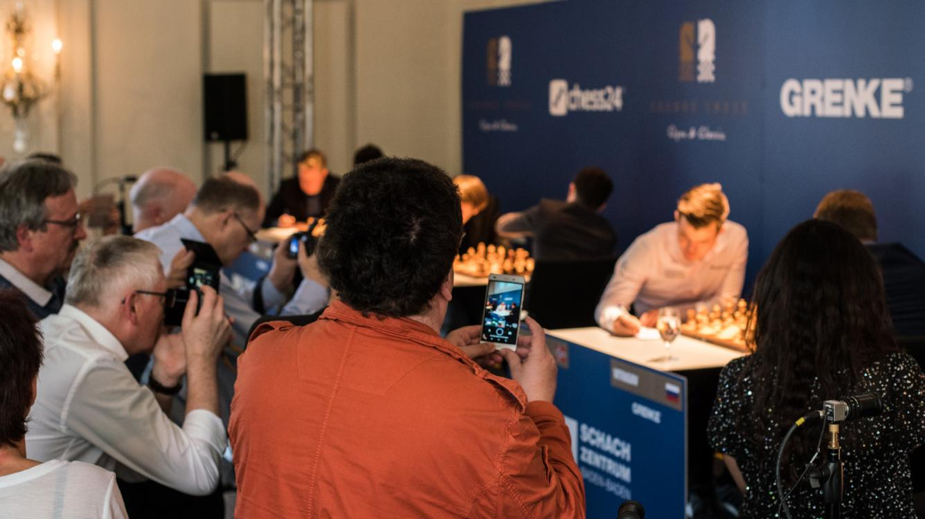 5 Draws Bring Caruana Closer To Grenke Title