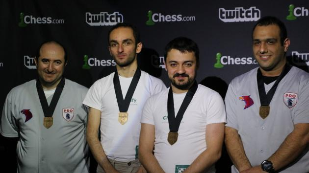 Die Armenia Eagles gewinnen die PRO Chess League