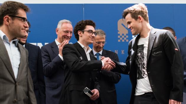 Caruana gewinnt die Grenke Chess Classics