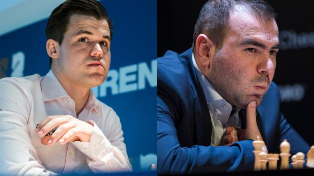 Carlsen, Mamedyarov Top Seeds In Shamkir