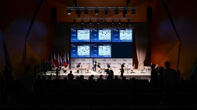 Mamedyarov-Carlsen Headline 5 Draws At Shamkir Chess