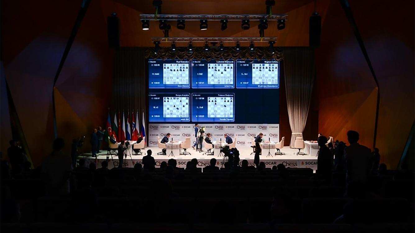 Mamedyarov-Carlsen Headlines 5 Draws At Shamkir Chess