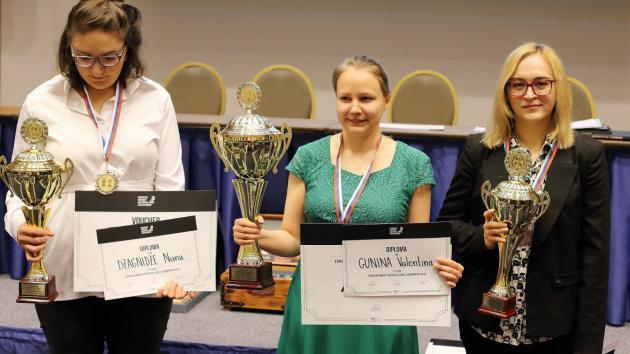 Gunina Wins European Women's Championship