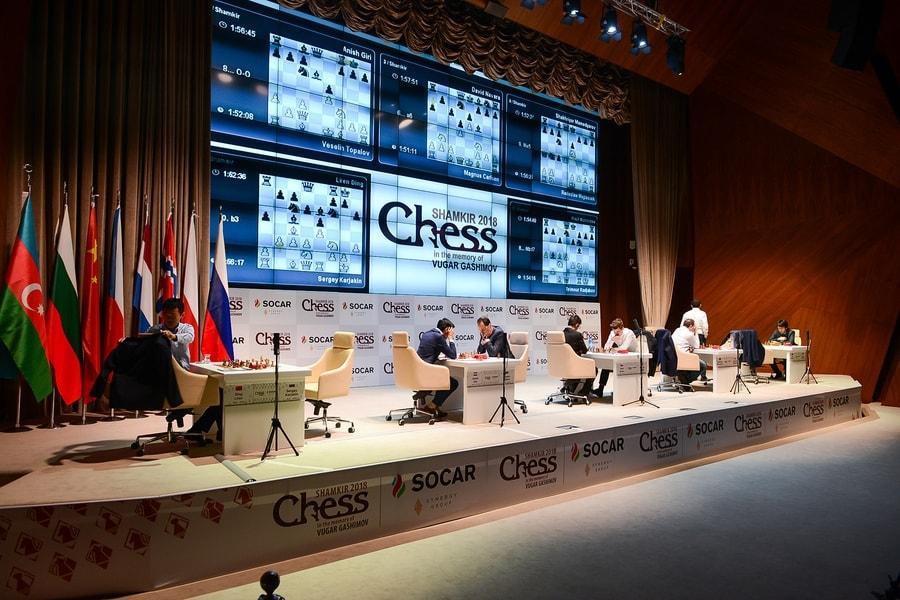 'Giri Perfection' Continues At Shamkir Chess