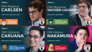 PRO Chess League All Stars, MVPs Announced