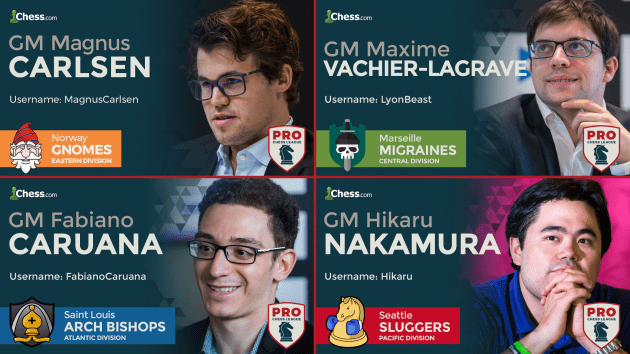 PRO Chess League All Stars, MVPs Announced