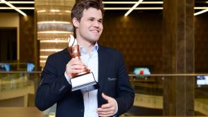 Carlsen Wins Shamkir Chess After Quick Draw With Ding