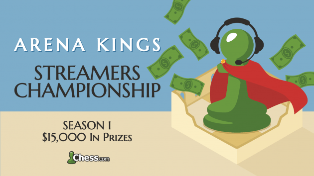 Announcing The Arena Kings Streamers Championship