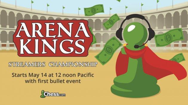 Ogłaszamy Mistrzostwa Streamerów Arena Kings