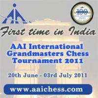Caruana Leads After AAI First Half
