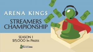 Arena Kings Yayıncıları Şampiyonası Duyurusu