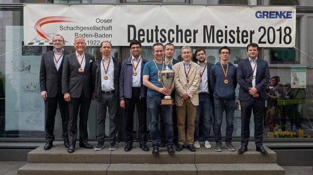 Das Starensemble von Baden-Baden ist Deutscher Meister
