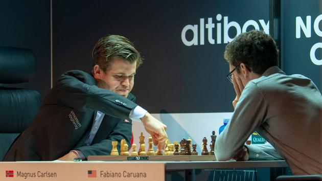 Carlsen Beats Caruana In Altibox Norway Chess Round 1
