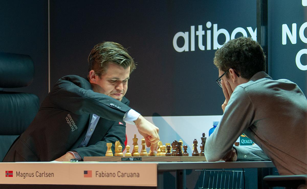 Carlsen Beats Caruana In Altibox Norway Chess Round 1