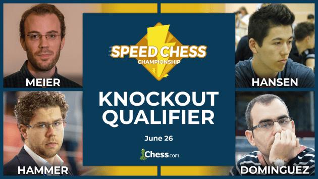 Georg Meier spielt in der Quali für die Speed Chess Meisterschaft