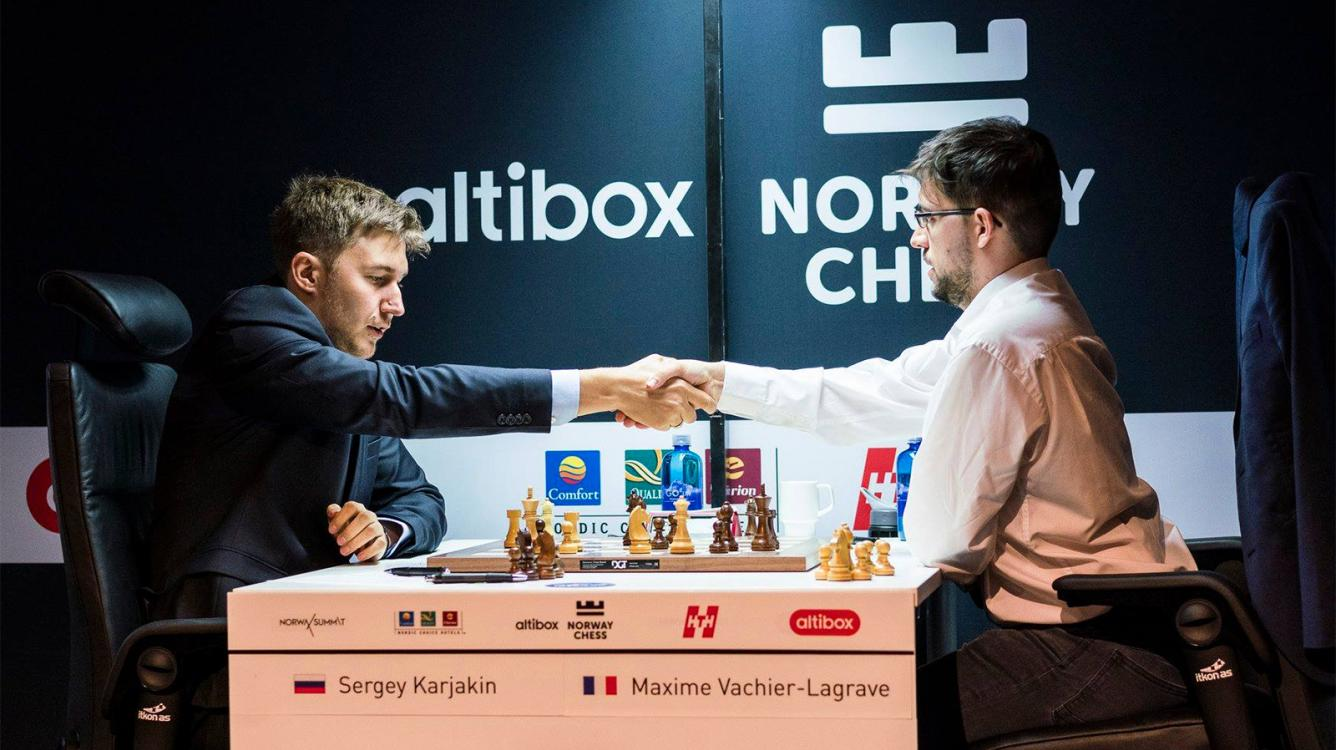 Aronian, Karjakin Win In Norway Chess Round 4; Ding Withdraws