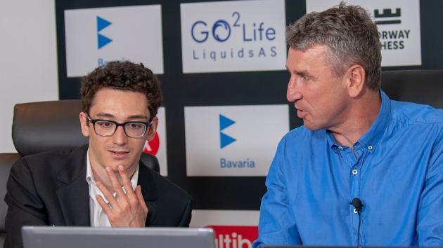Caruana Beats Karjakin In Norway Chess Round 5