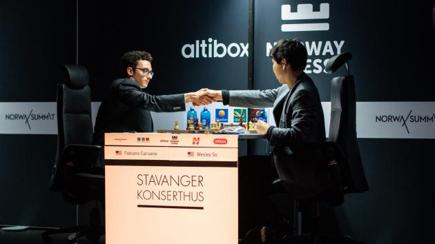Caruana Wins Altibox Norway Chess 2018