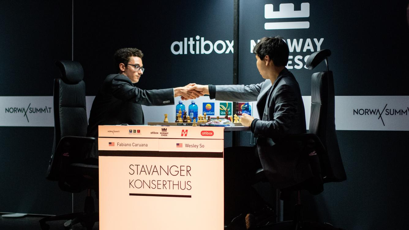 Caruana Wins Altibox Norway Chess 2018